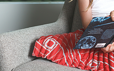 RAVI Weighted blankets for comforting kids with hugs