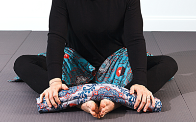 Soften the edges of intensity with RAVI in Bound Angle Pose